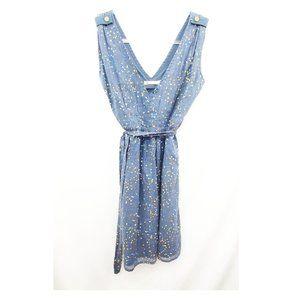 TULLE Modcloth Retro Geo Print Cotton Dress EUC